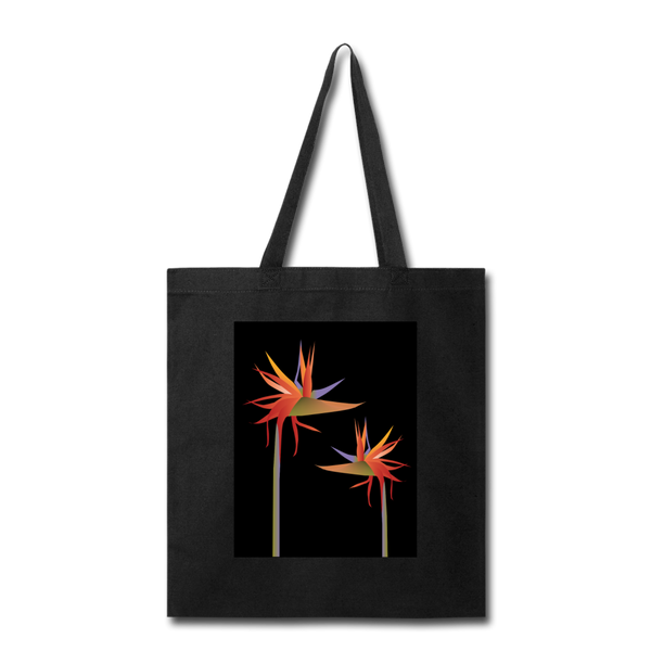 Strelitzia Canvas Tote Bag I Puffee