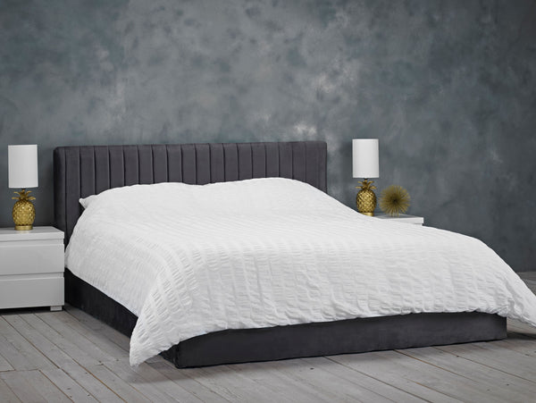Berlin Storage Bed - Silver
