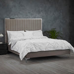 Berkeley Bed - Soft Grey