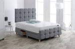 DOR Modern 4 Drawer Bedstead - Grey