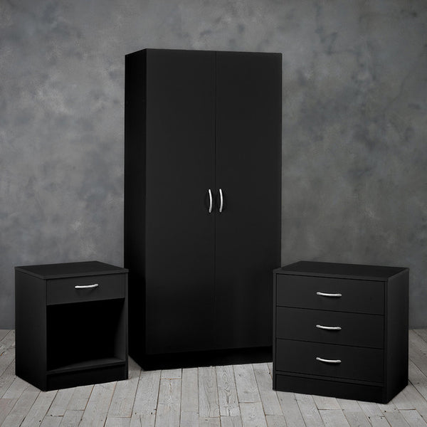 Delta Trio Set - Black