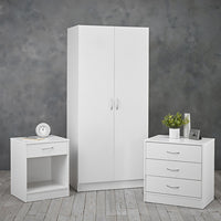 Delta Trio Set - White