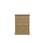 Devon Shoe Cabinet - Oak