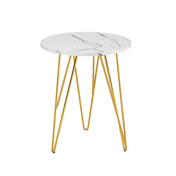 Fusion Lamp Table - White