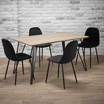 Genoa Dining Table & 4 Chairs