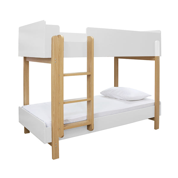 Hero Bunk Bed - White/Oak