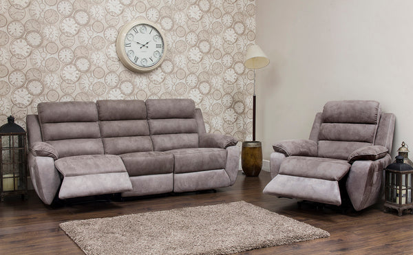 Urban 3 Seater & Chair Manual Reclining Sofa Set