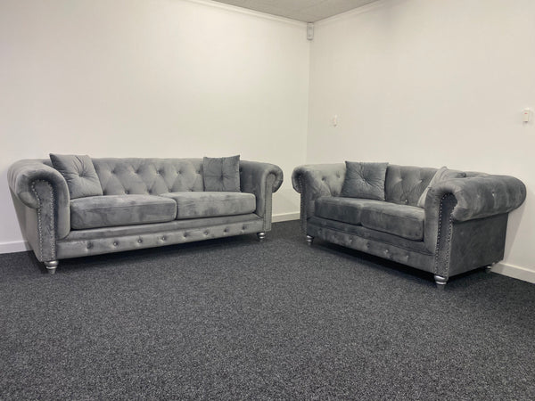 Hampton 3 Seater & 2 Seater Sofa Set