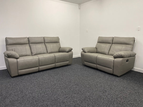 Valegro 3 Seater & 2 Seater Manual Reclining Sofa Set