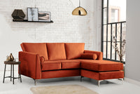 Ikon 3 Seater Chaise Sofa