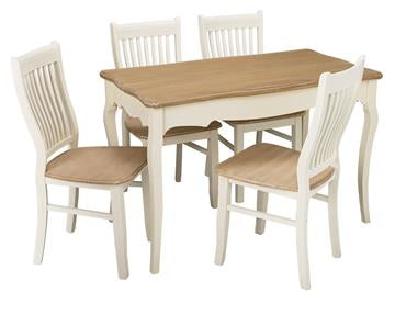 Juliette Dining Table & 4 Chairs