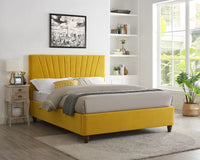 Lexie Bed - Yellow