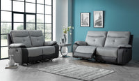 Mercury 3 Seater & 2 Seater Manual Reclining Sofa Set