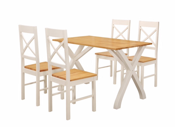 Normandy Dining Table & 4 Chairs
