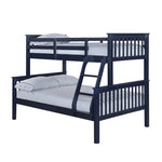 Otto Trio Bunk Bed - Navy