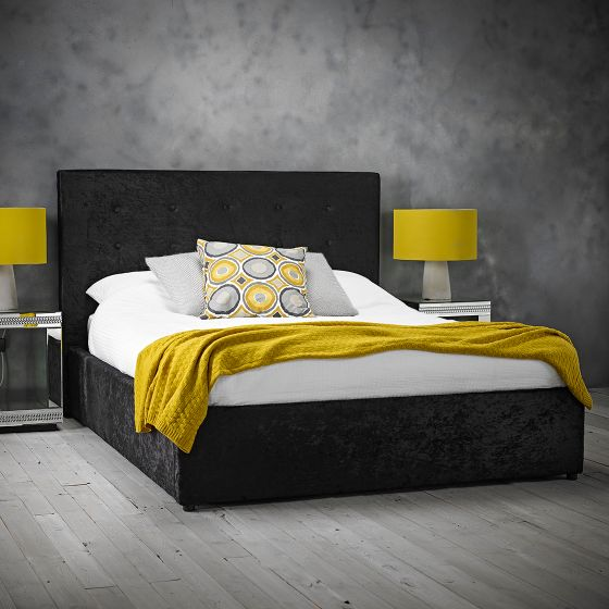 Rimini Bed - Black