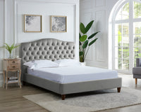 Sorrento Bed - Silver
