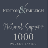 Fenton & Farleigh Natural Supreme 1000 Mattress