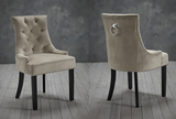 Morgan Dining Chairs (Pack of 2) - Beige