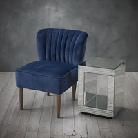 Bella Chair - Midnight Blue