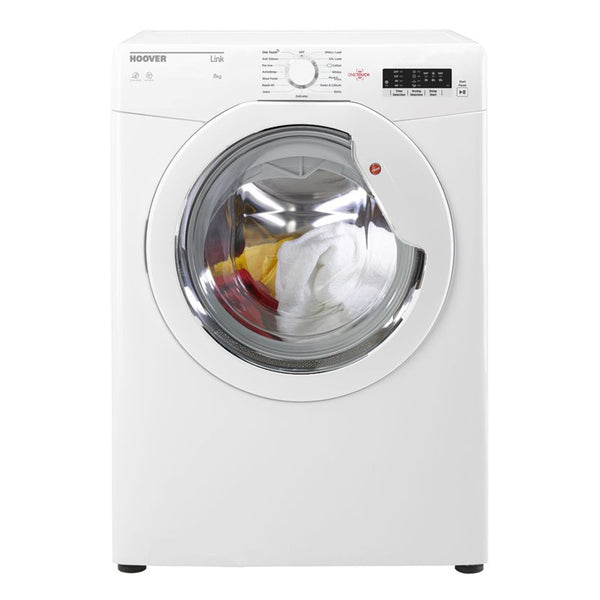 Hoover HLV8LG One Touch 8kg Load Vented Tumble Dryer - White