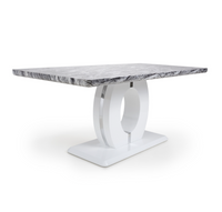 Neptune Large 180cm Grey/White Dining Table