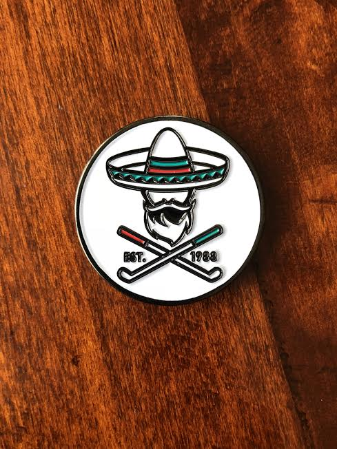 Almigos double Sided Bandito Ball Marker