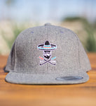Almigos Heather Grey Snap Back