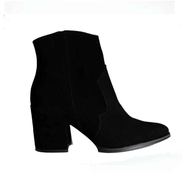 BOTINES Cowgirl black bootie STYLETTO