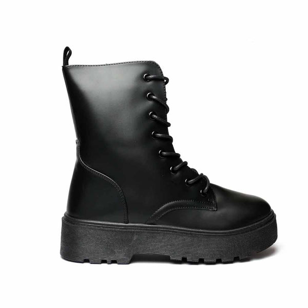 Combat boots STYLETTO