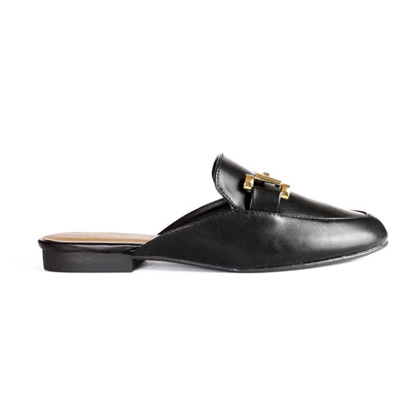 MULES black mule STYLETTO