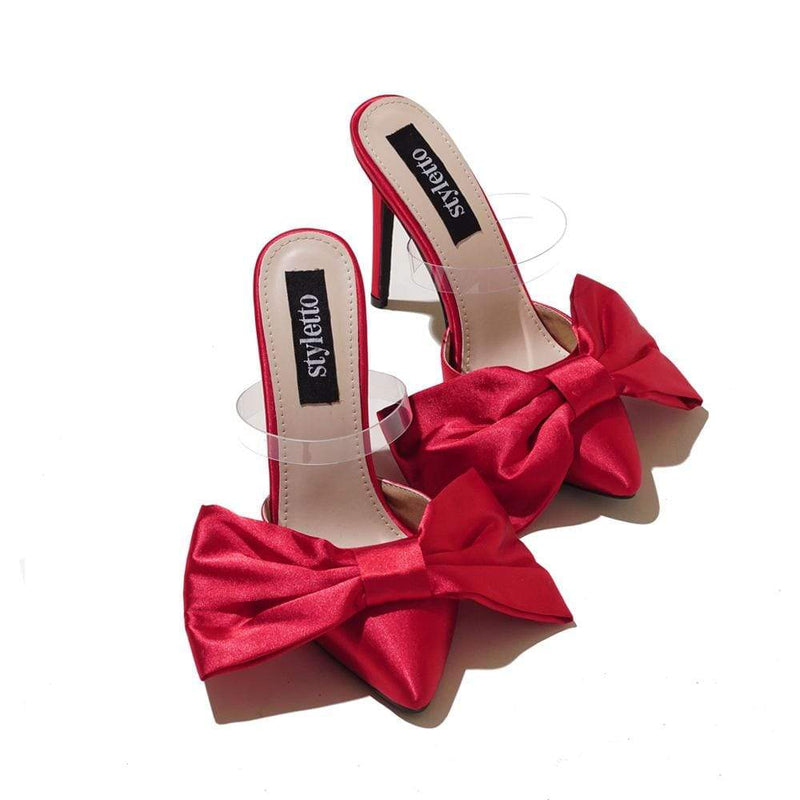 Red Bow  Stylettos STYLETTO