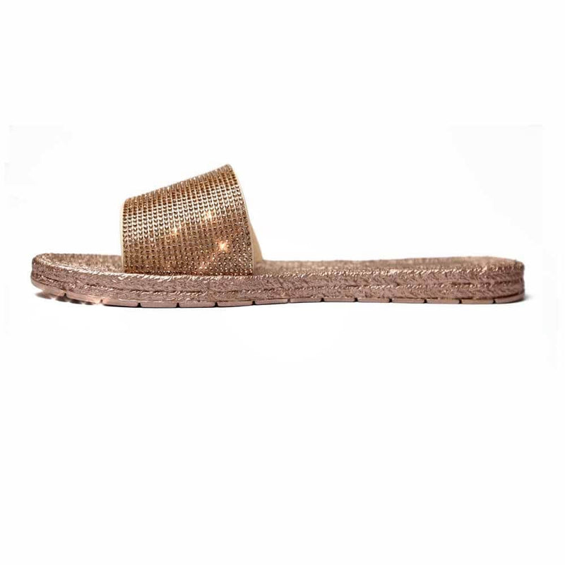 Rose gold sandals STYLETTO