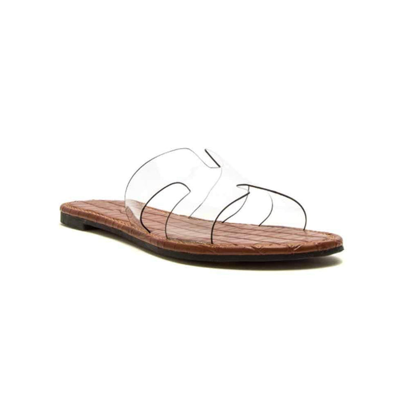 SANDALIAS Clear slides STYLETTO