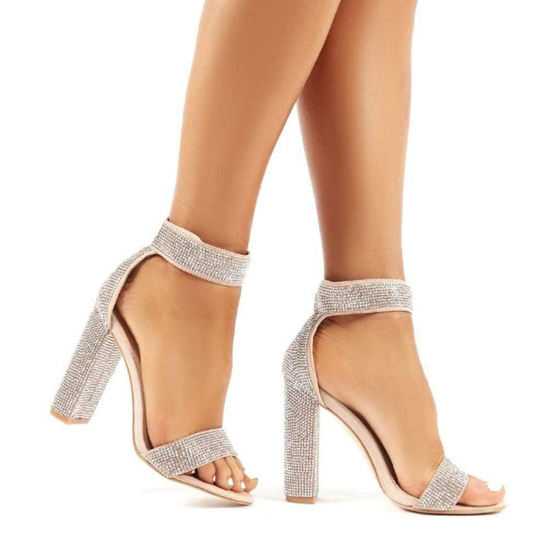 SANDALIAS Diamond Heels STYLETTO