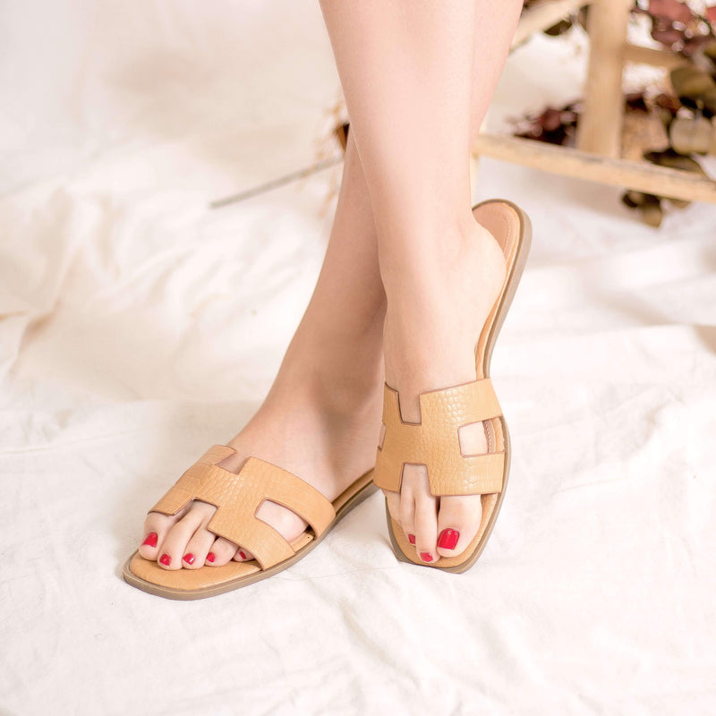 SANDALIAS Icon Camel Sandals STYLETTO
