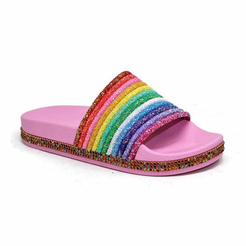 SANDALIAS Rainbow slides STYLETTO