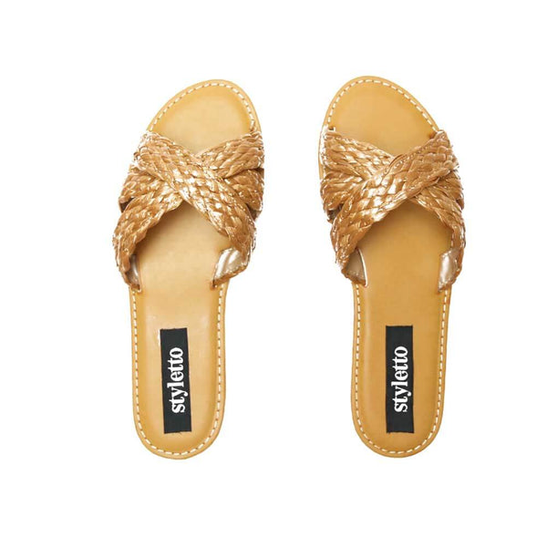 SANDALIAS Wheat Sandals STYLETTO