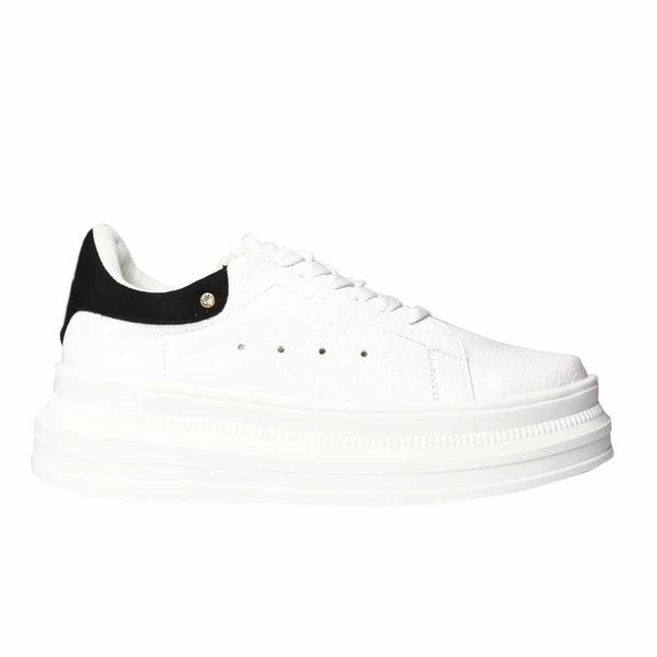 TENIS Black back sneakers STYLETTO