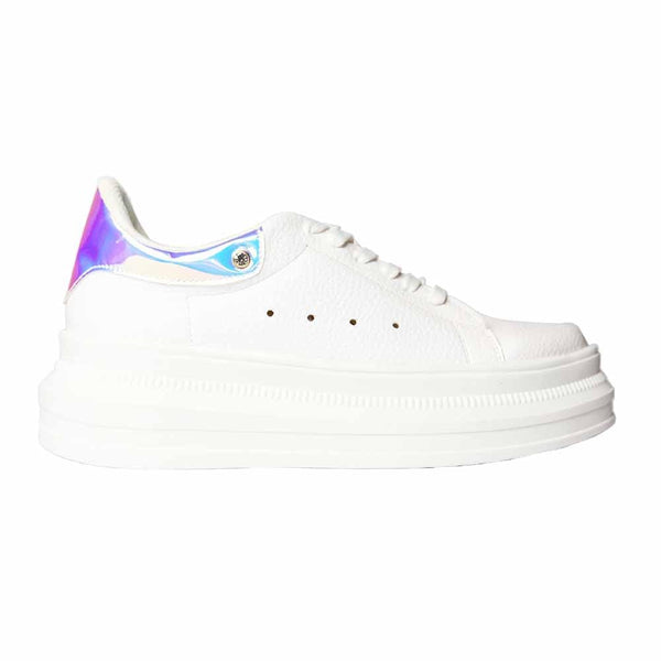 TENIS Holographic back sneakers STYLETTO