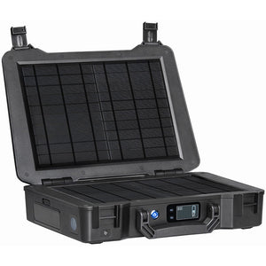 THE RENOGY PHOENIX PORTABLE SOLAR GENERATOR WITH BUILT-IN 20W SOLAR PANEL
