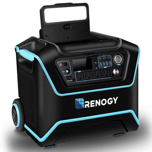 RENOGY LYCAN POWERBOX WITH SUITCASES - SOLAR POWER GENERATOR