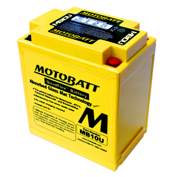 MB10U Motobatt 12V AGM Batteries