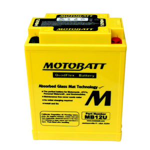 MB12U Motobatt 12V AGM Battery