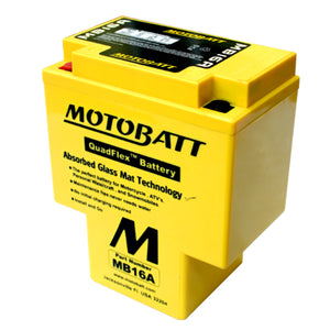 MB16A Motobatt 12V AGM Battery