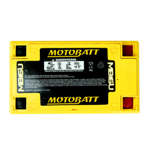 MB16U Motobatt 12V AGM Battery