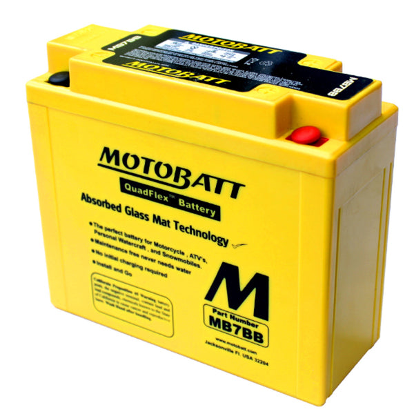 MB7BB Motobatt 12V AGM Battery