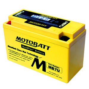 MB7U Motobatt 12V AGM Battery