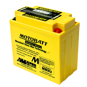 MB9U Motobatt 12V AGM Battery