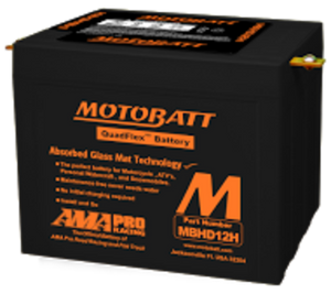 MBHD12H 12V Motobatt AGM Battery